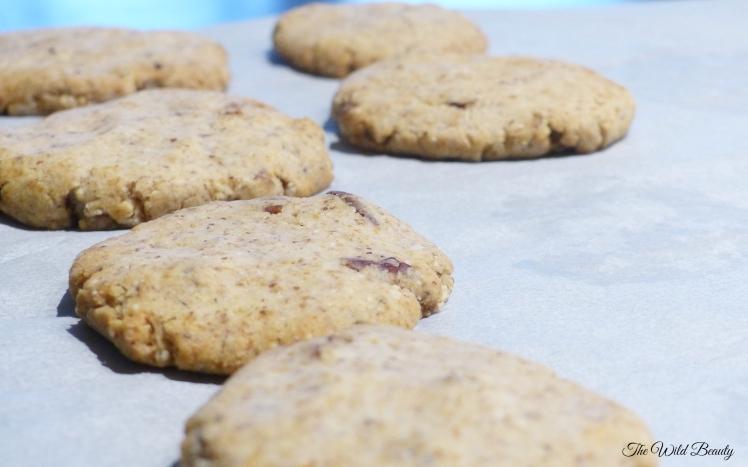 cookies amande vanille noix de pécan vegan sans gluten sans sucre
